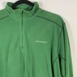 COLUMBIA . Pine Ridge Half-Zip Fleece Shirt . L